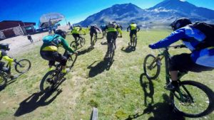 Shiver hunter race 2016 at Les Arcs, France