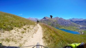 Smoothie tignes bike park france