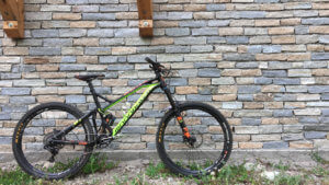2019 Damien Desbrosses enduro bike