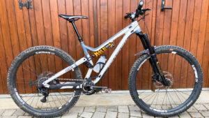 2019 Maxime Ciriego's enduro bike