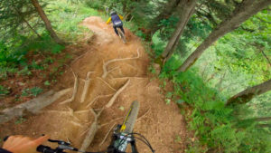 Coup d'Fouet video from Châtel bike park