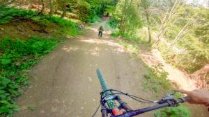 Fluid video from Châtel bike park