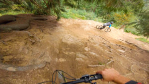 Gueps video from Châtel bike park