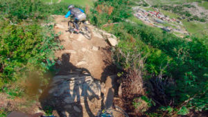 Haute Tension video from Châtel bike park