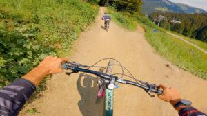 Ric et Rac video from Châtel bike park
