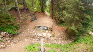 Zougouloukata video from Châtel bike park
