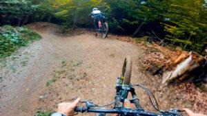 Alpen bike park, plan des pistes VTT avec vidéos owlaps, Piste Churi Flow - video owlaps