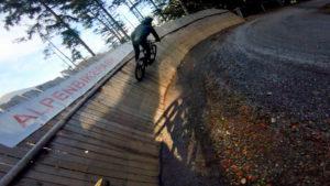 Alpen bike park, plan des pistes VTT avec vidéos owlaps, Piste Kügalibahn - video owlaps