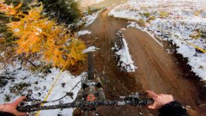 Verbier bike park, plan des pistes VTT avec vidéos owlaps, Piste Tire's Fire - video owlaps